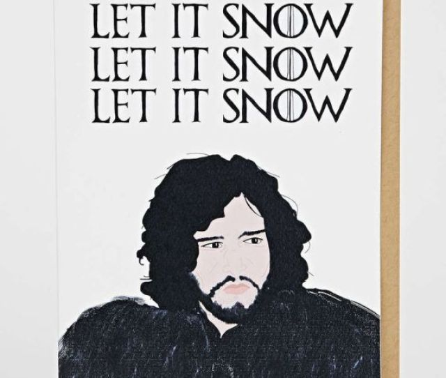Jon Snow Source Tay Ham Greeting Cards