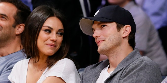 Image result for ashton and mila