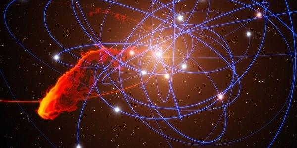 Strange Object Near Milky Ways Black Hole Stirs
