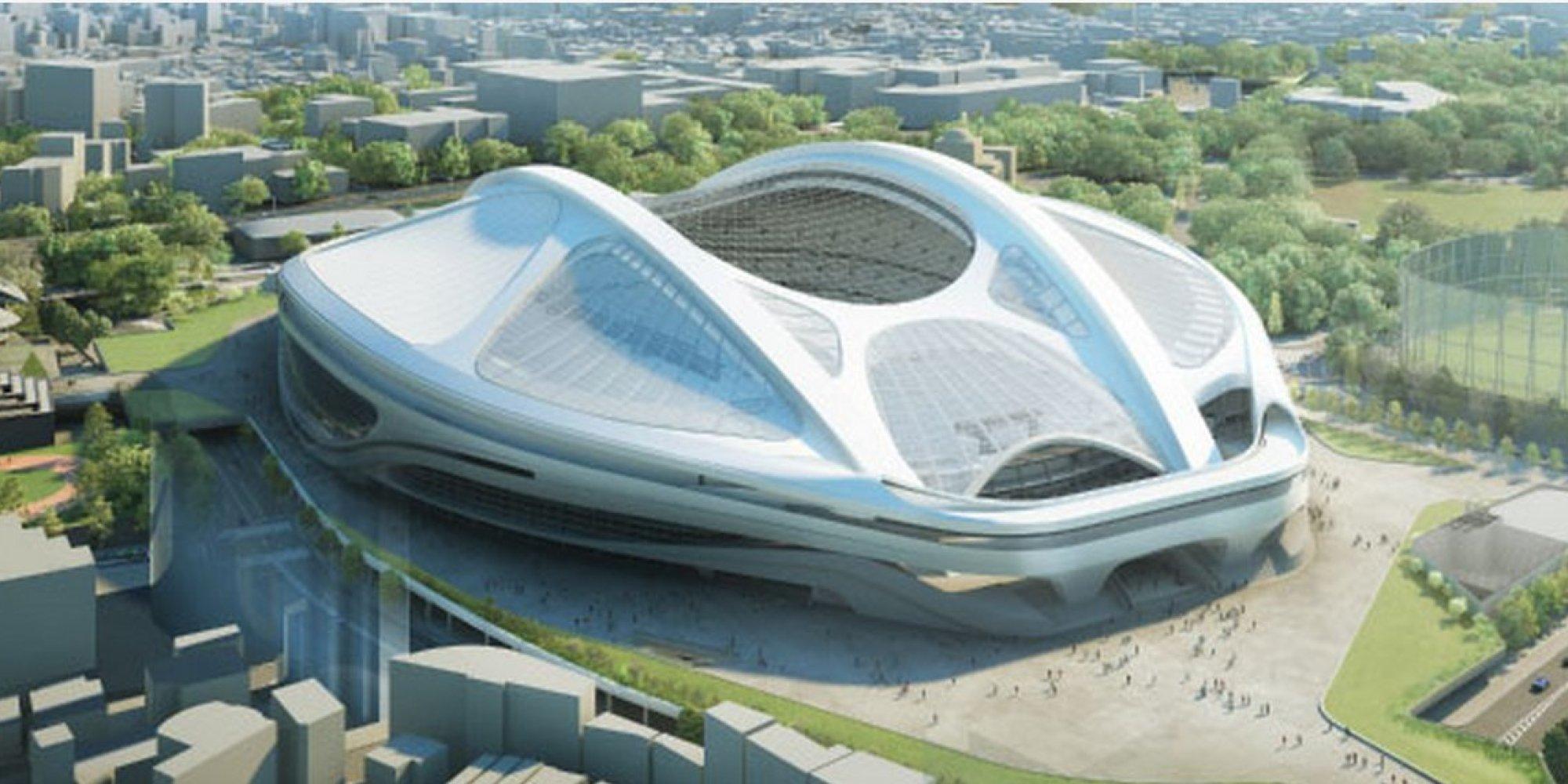 当初の新国立競技場のデザイン