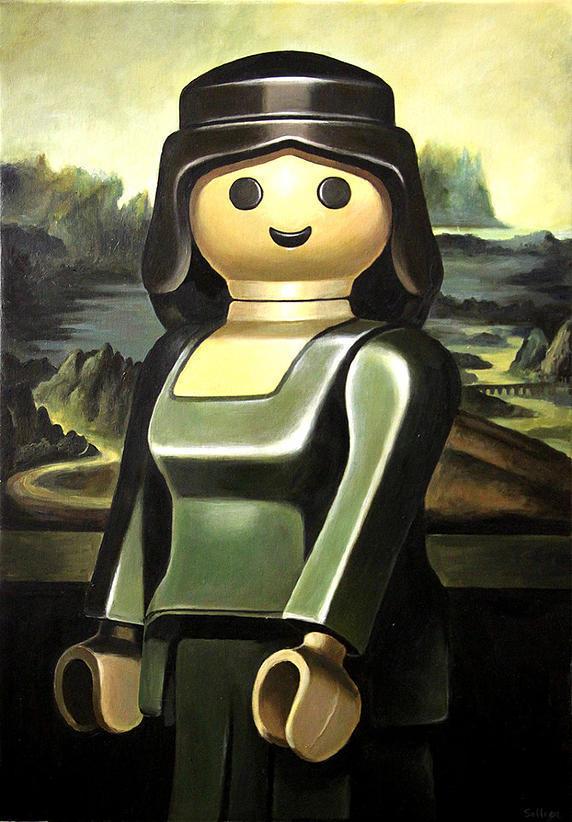 [Culture - Art - Photo] Des Playmobil pour revisiter les classiques de la peinture (1/6)