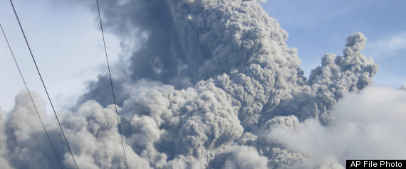 Mount Bulusan Erupts