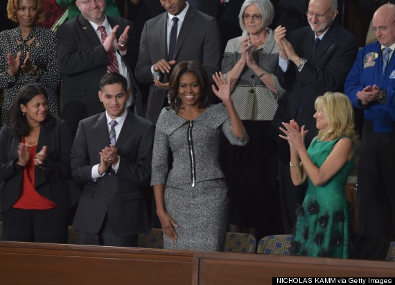 michelle obama state of the union 2015