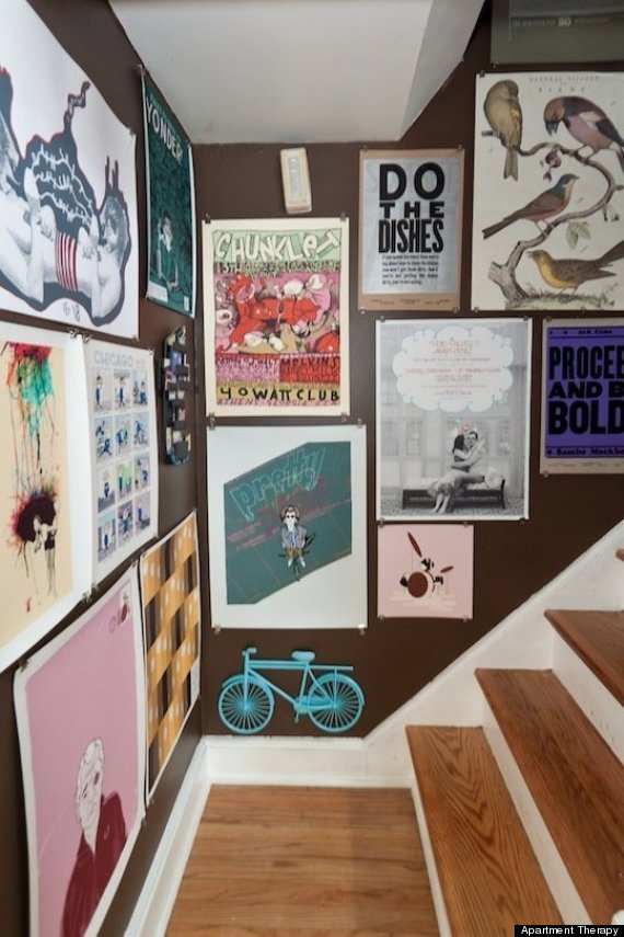 10 Poster Decorating Ideas That Won't Remind You Of A Dorm ... on Room Decor Posters id=71964