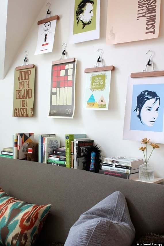 10 Poster Decorating Ideas That Won't Remind You Of A Dorm ... on Room Decor Posters id=87437