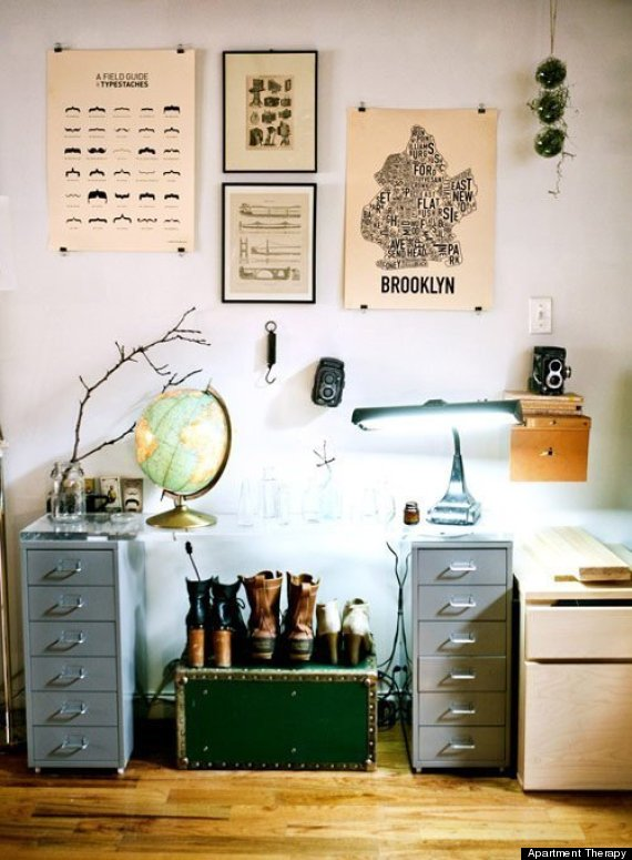 10 Poster Decorating Ideas That Won't Remind You Of A Dorm ... on Room Decor Posters id=52009