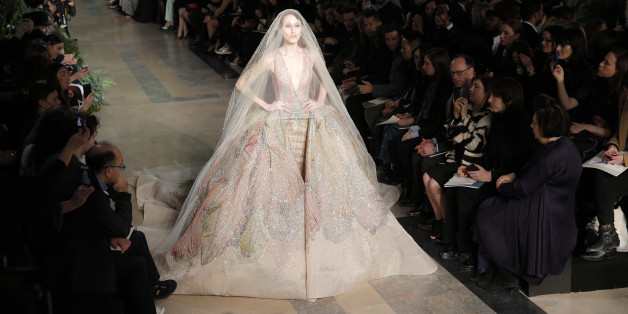 The 15 Best, Most Dramatic Wedding Dresses From Couture