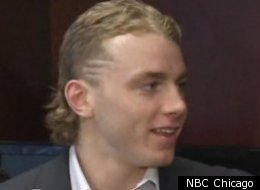 Patrick Kane's stupid face and mullet