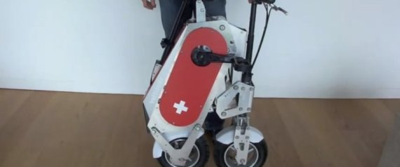 The Voltitude Folding Electric Bicycle Inspired By