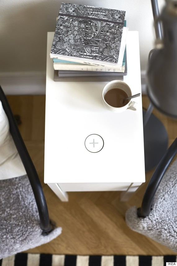 Ikea S New Furniture Will Charge Your Phone Huffpost