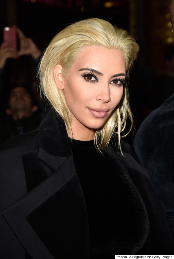 How To Go Platinum Blonde According To Kim Kardashians
