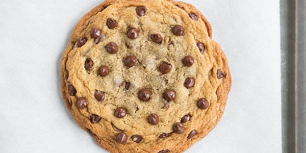 This Is A Giant Chocolate Chip Cookie Recipe, Because ...