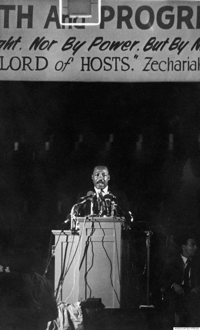 martin luther king memphis speech