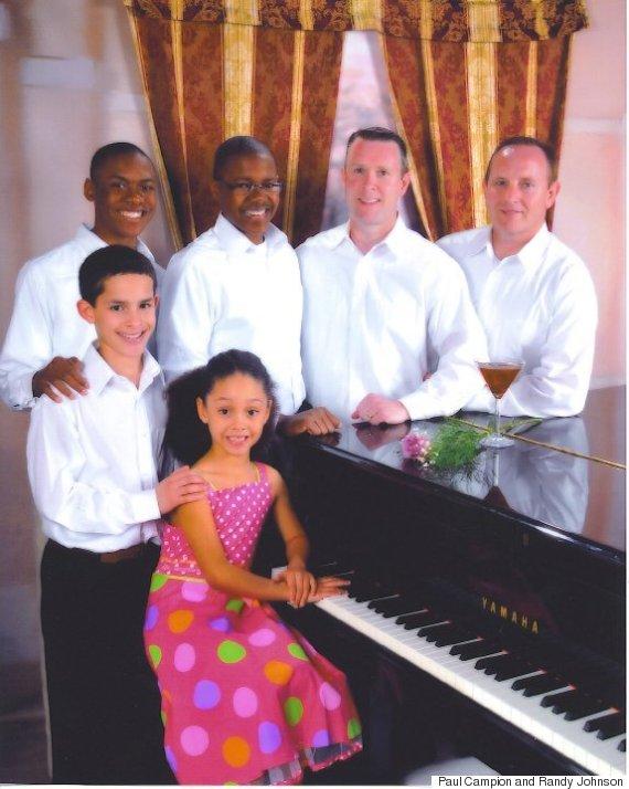 The Johnson-Campion family, 2010.