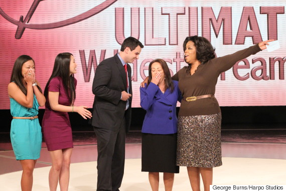 denni foster single mom surprise from oprah
