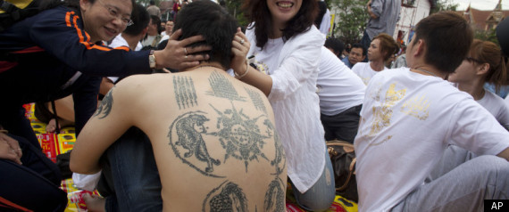 Thailand Tourist Tattoo