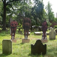 Artist's Nude Self-Portraits Explore Former Sites Of Slavery Throughout New York