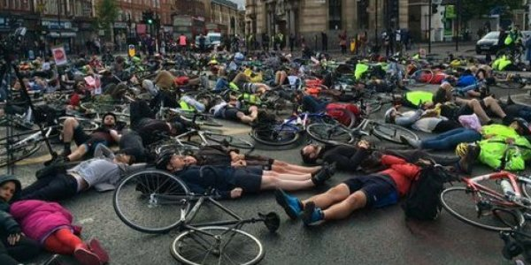 Esther Hartsilver Death Prompts Cyclists To Stage Mass Die ...