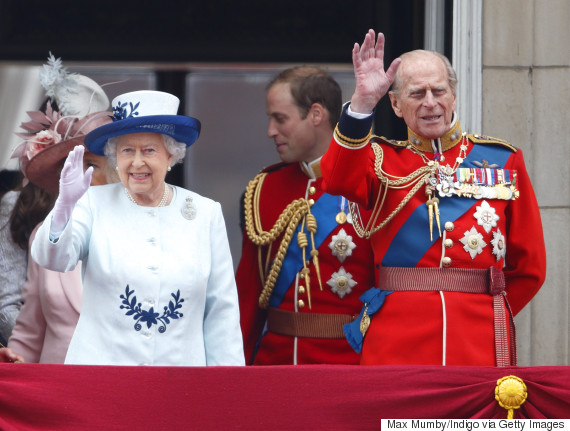 trooping the colour queen