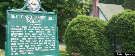 Hill Historical Marker