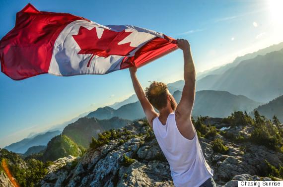 canada flag mount seymour