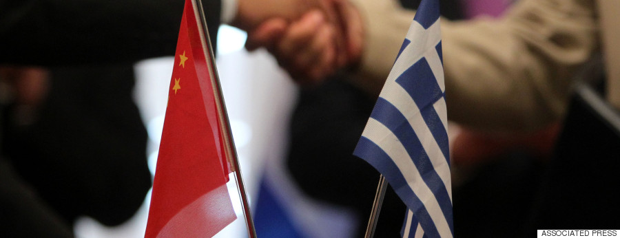 china greece flag