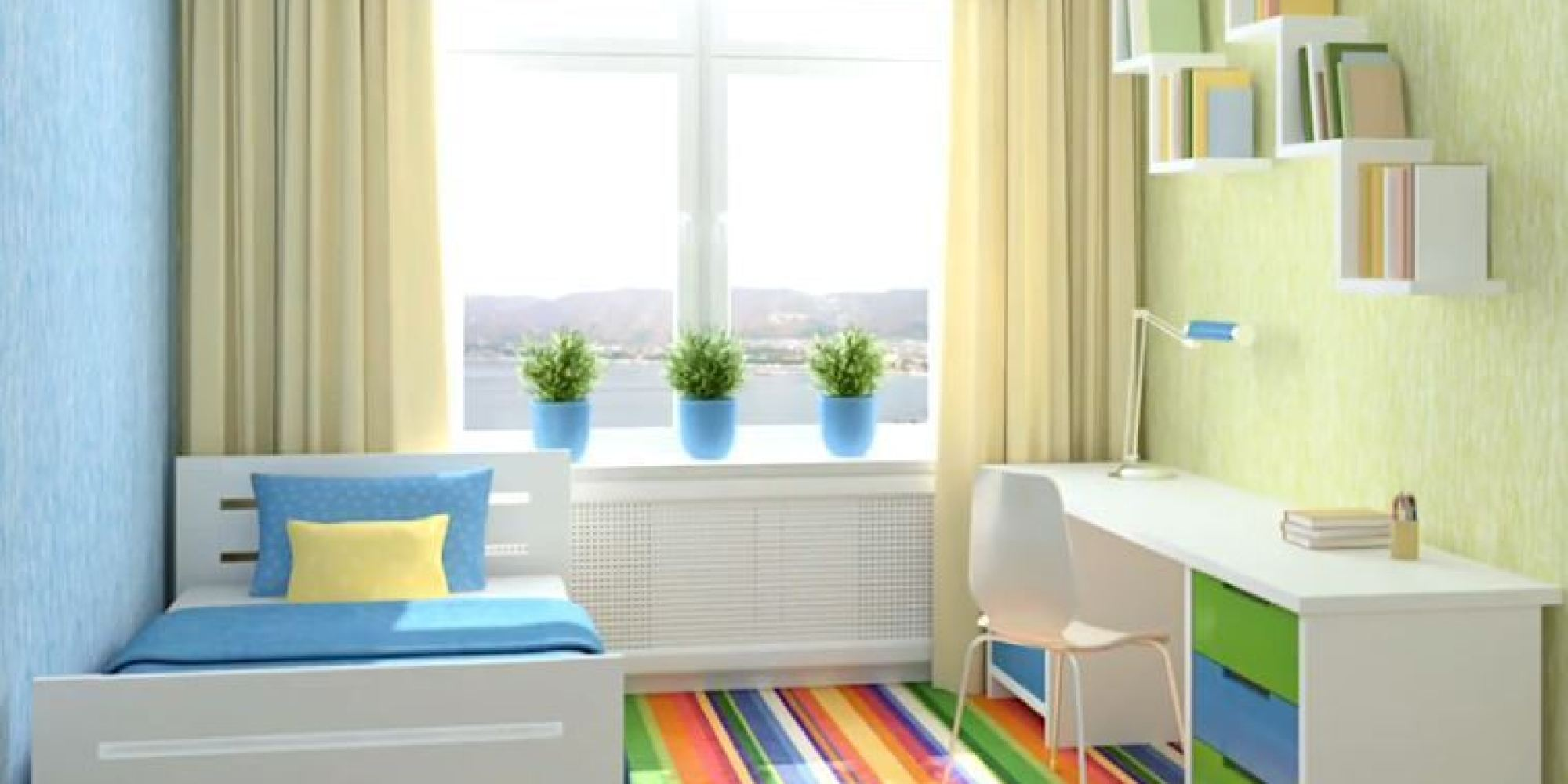 Kids Rooms: 5 Worst Colour Schemes For Your Child's Bedroom