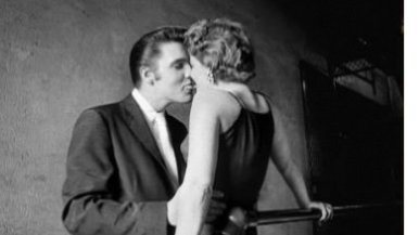 Elvis Presley in 'The Kiss' Pic