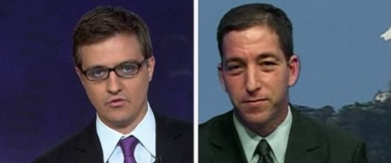 Chris Hayes Glenn Greenwald