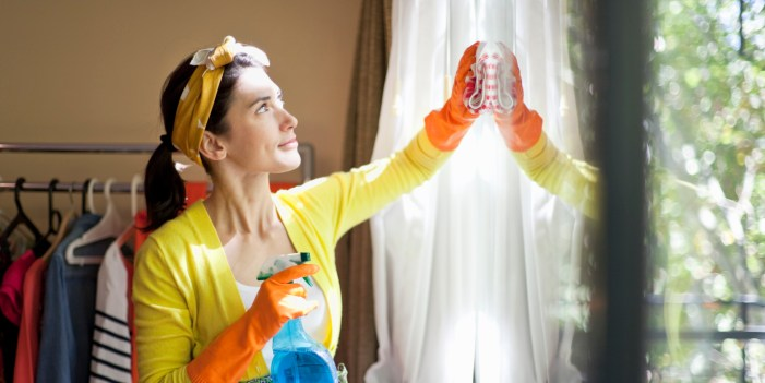 burn calories while you clean your house