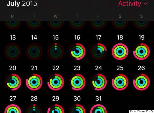 apple watch activity tracker