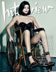 Image result for kylie interview wheelchair