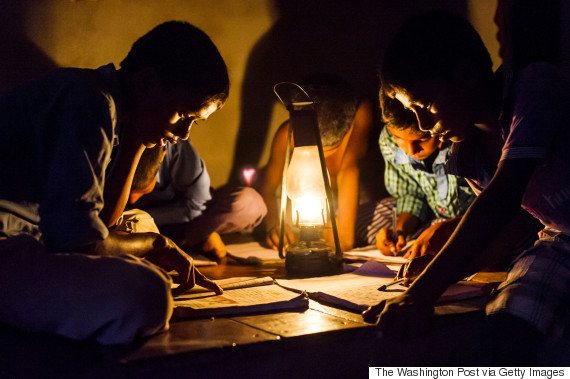 India's Lit Up Border Can Be Seen From Space -- But 237 ... on Sconces No Electric Power id=41162