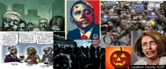 Obama Mailer Zombie