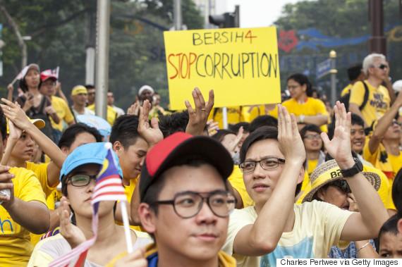 protest malaysia najib