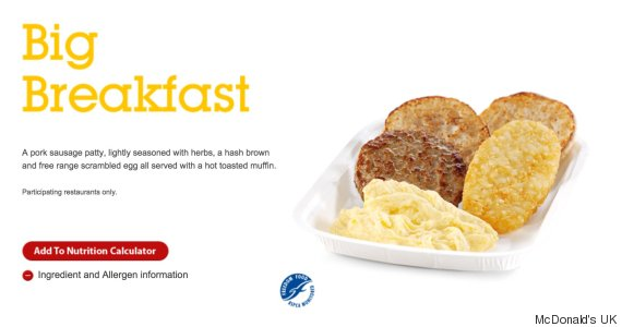 McDonald's Big Breakfast 'Removed' From UK Menus ...