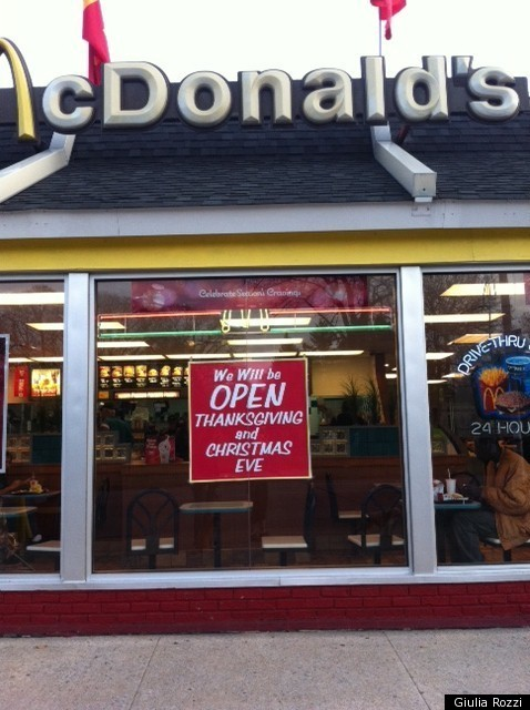 Mcdonalds Open Thanksgiving 2014 100 Images Is