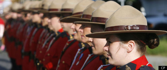 Female Mountie