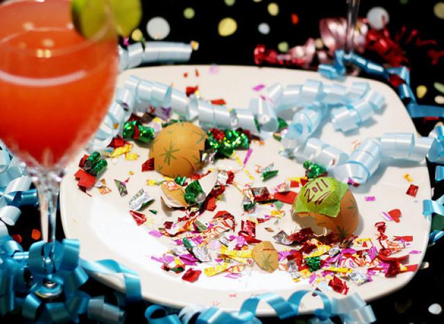 أفكار ديي ليلة رأس السنة: قنابل النثار البيض