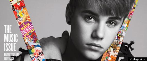 Justin Bieber V Mag