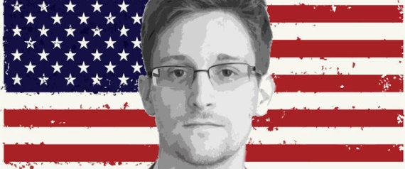 SNOWDEN USA FLAG