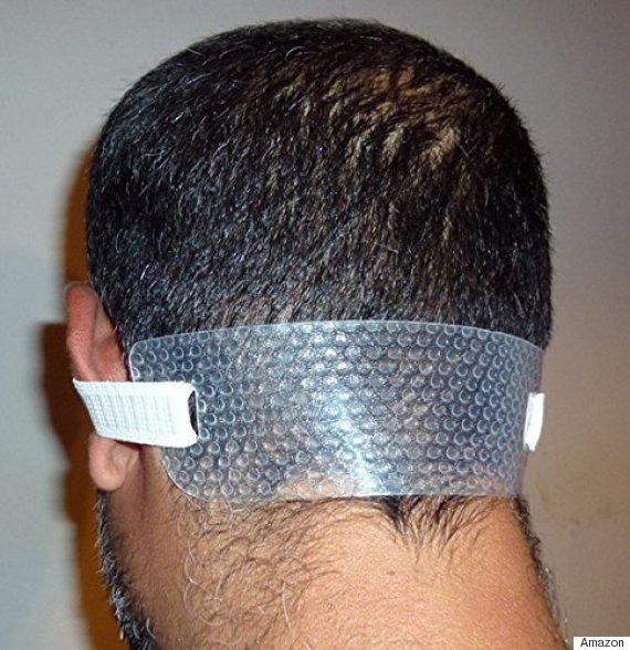 neck hair line