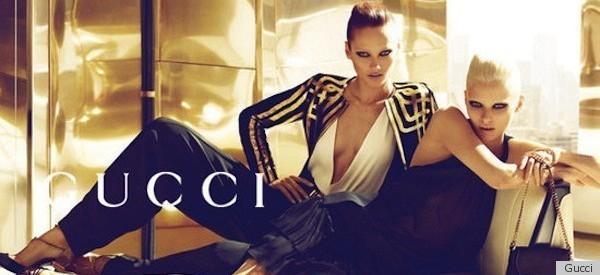Danielle Segal in Gucci Ad