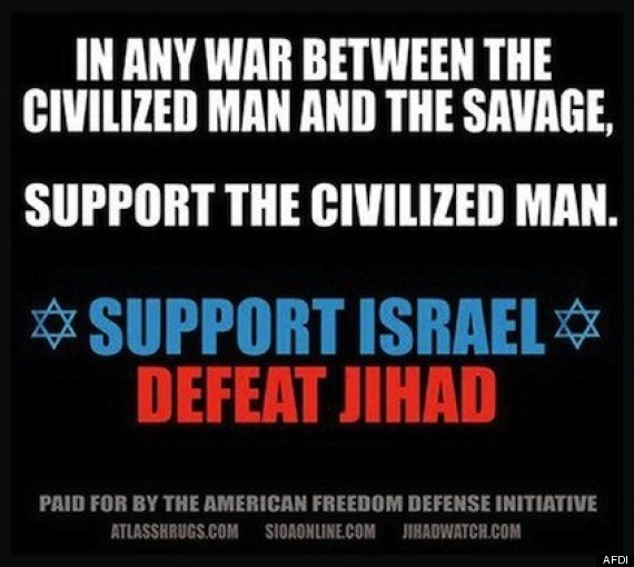 In any war between the civilized and the savage, support the civilized man. Support Israel, Defeat Jihad
