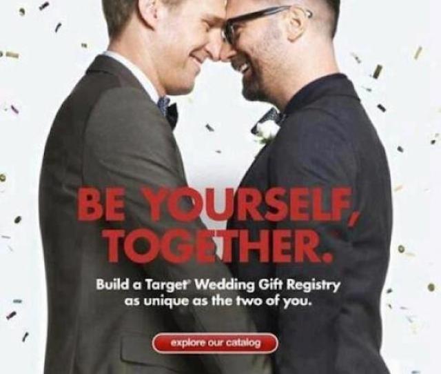 Target Gay Wedding Ad