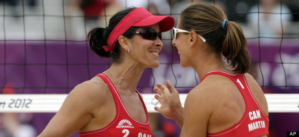 Team Canada's Olympic Women's Beach Volleyball Players ...
