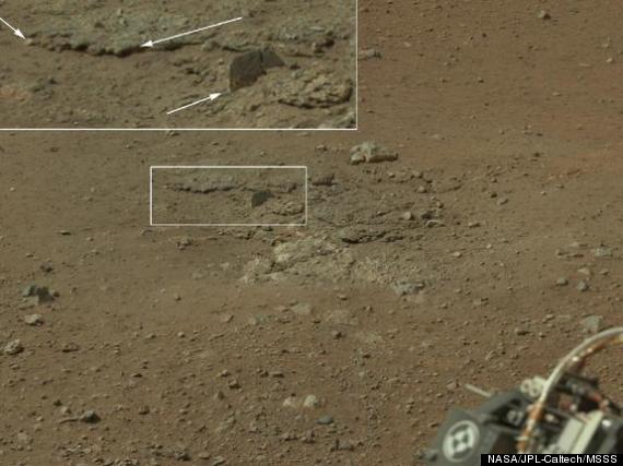 Mars Rover HiRes PHOTOS Curiosity Captures Color Views