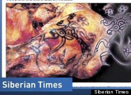 Siberian Mummy Tattoos