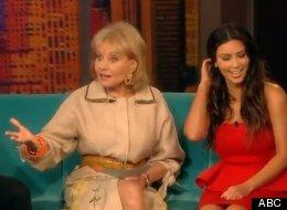 Barbara Walters Kim Kardashian