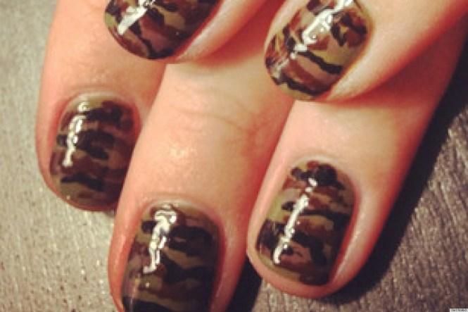 12 Hot Hunting Camo Nails